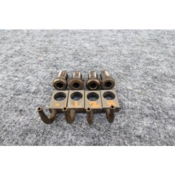 07-15 mini cooper s / JCW R55-R61 engine oil spraying nozzle jet injector SET  .