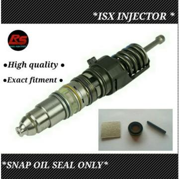 Cummins isx fuel injector snap oil seal