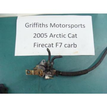 05 04 06 ARCTIC CAT FIRECAT F7 carb 700 SABRECAT? mikuni injector oil pump