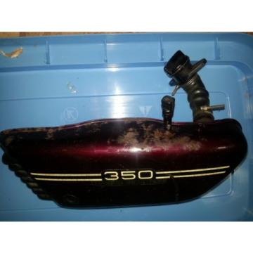 1974 YAMAHA RD 350 injector oil tank side cover