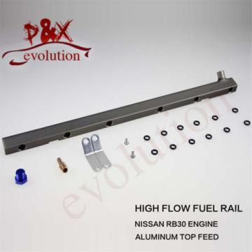 High Flow Injector Aluminum Fuel Oil Rail kit for Audi VW 1.8L Turbo 20V blue