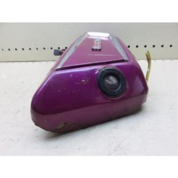 1971 YAMAHA R5 R5B OIL INJECTOR TANK RESERVOIR LEFT SIDE COVER PURPLE (YSHP 101)