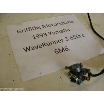 93 YAMAHA WAVERUNNER 650 3 III LX 92? 94? 6m6 MIKUNI OIL PUMP INJECTOR INJECTION