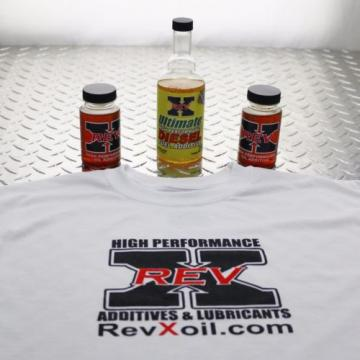 Rev-X 4oz Ford Powerstroke Oil Treatment, RevX BEST HEUI Injector Stiction Fix