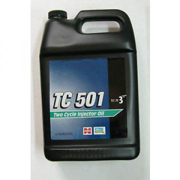 TC 501 Two Cycle Injector Motor Oil TC-W3, 1 Gallon