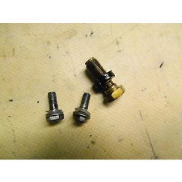 67 Suzuki TC 250 TC250 Scrambler oil injector injection line banjo bolts