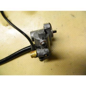 80 81 Suzuki FS 50 FS50 scooter engine oil pump injector injection