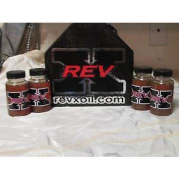 Rev X Oil Additive- 4 Bottles!! rev x, REV X, GMC, FORD, Fix injectors, rev-x