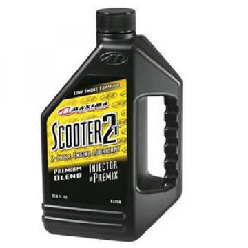 MAXIMA RACING OILS SCOOTER INJECTOR / PREMIX 2 STROKE  1LTR