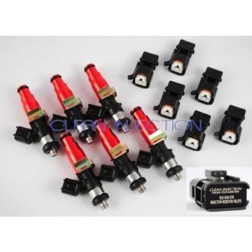 fit Nissan Skyline rb26dett rb2 r33 r34 r32 Bosch 750cc fuel injectors GTR turbo