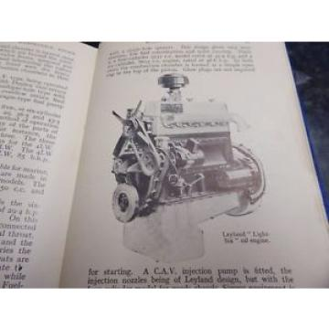 LATE 1940S DIESEL ENGINE BOOK SUPERB DETAIL OF EARLY OIL ENGINES INJECTORS ETC