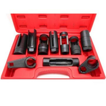10 Pc. Sensor & Sending Unit Socket Set oxygen injectors oil pressure vacuum