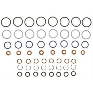 03-04 Ford 6.0 6.0L Powerstroke Diesel Fuel Injector Oring Set Oil Rail Nipples