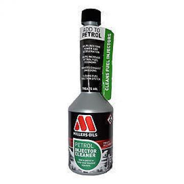 Millers Oils Petrol Injector Cleaner 250ML Petrol Additive Treatment