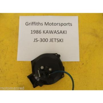 86 KAWASAKI JS300 300 JS JET SKI STAND UP 87 88 OIL PUMP IGNITION COVER INJECTOR