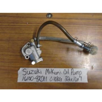 Suzuki 8hp 9.9hp Mikuni Oil injection injector pump 16100-92D11