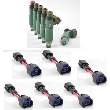 fit Nissan Skyline RB25DET rb25 gts-t gts-s r34 r33 Denso 600cc Fuel Injectors