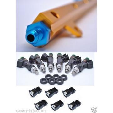 fit Nissan Cefiro Skyline GTS-t rb20det rb20 R32 C33 850cc Bosch Fuel Injectors