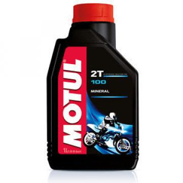 Motul NEW Mx 1L 100 Moto Mix Mineral Injector Premix Motorcycle 2 Stroke Oil