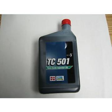 TC 501 Two Cycle Injector Motor Oil TC-W3, 1 Quart