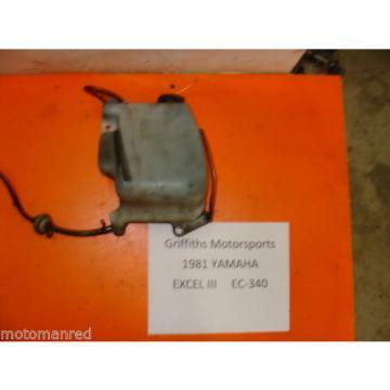 81 82 83 84 YAMAHA EXCEL 3 III EC ES 340 oil tank bottle reservoir injector