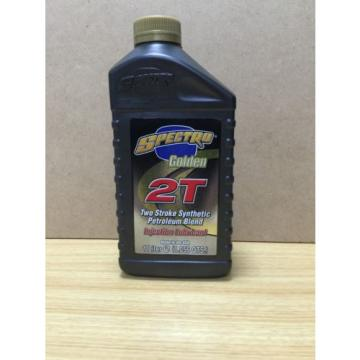 Spectro Golden 2T Semi Synthetic 2-Stroke Injector lube motorcycle Oil 1 x 1L