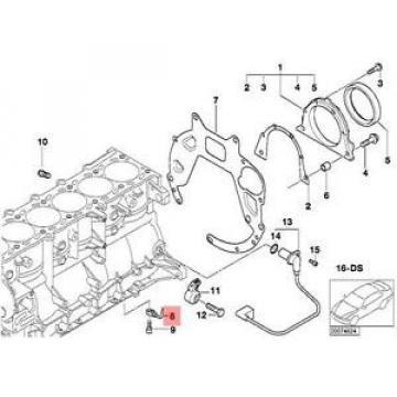Genuine BMW E46 E85 E86 Z3 Convertible Oil Spraying Injector OEM 11427830770