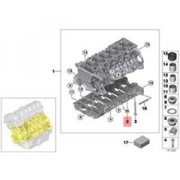 Genuine BMW E60 E60N E61 E61N E63 E63N Oil Spraying Injector OEM 11117524800