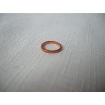 1 vintage NOS European 10 mm Copper washer ,fits  Banjo ,ID 10.2 ,OD 12.5,1.5
