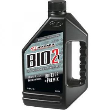 Maxima Racing Bio 2 T Biodegradable Injector Oil 1 Liter Bottle 19901 53-0724