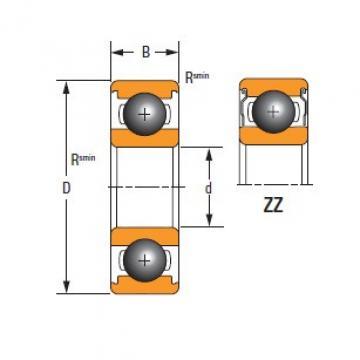 Thin Section61810-ZZ-C3 TIMKEN