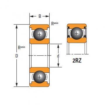Thin Section61910-2RZ-C3 TIMKEN