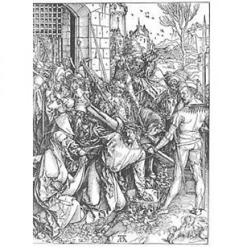 Christ   Bearing the Cross by Albrecht Durer Giclee Canvas Print