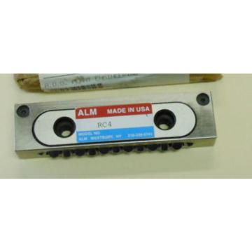 ALM   - Model #RC4, Recirculating Bearing Component -