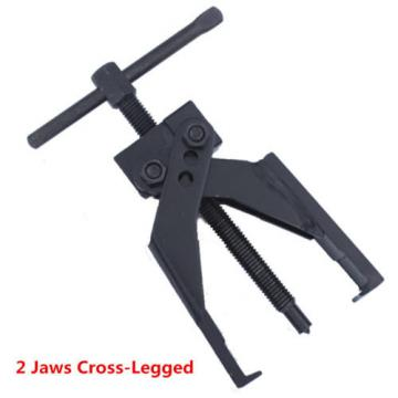 2   Jaws Cross-Legged Vanadium chromium steel Gear Bearing Puller Extractor Tool