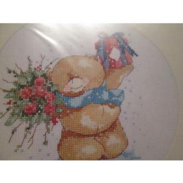 'Bearing   Gifts For You' - Forever Friends design cross stitch chart