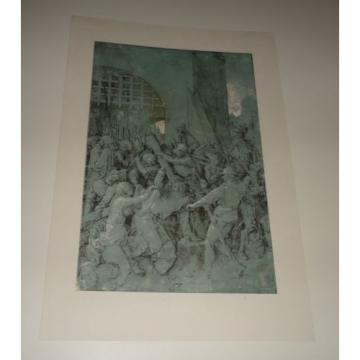 CHRIST BEARING THE CROSS 1928 Albrecht Durer Drawing PRINT