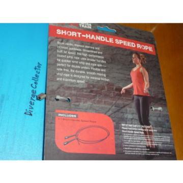 Jump   Rope SPRI  Cross Train Speed Handle, adjustable cable length, Ball Bearing