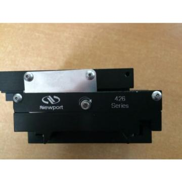 Newport   X-Y 426 Low-Profile Crossed-Roller Bearing Linear Stage