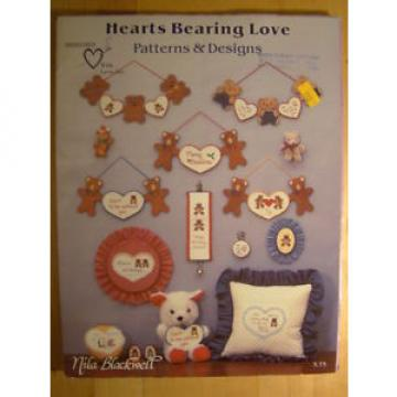 Hearts   Bearing Love Cross Stitch Patterns Book Nila Blackwell