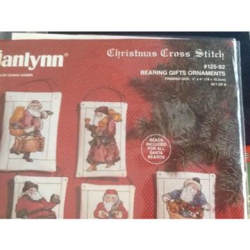 Janlynn   Bearing Gifts ornaments cross stitch kit