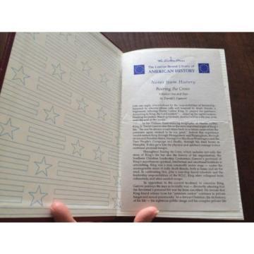 BEARING THE CROSS BY DAVID J. GARROW 2 VOLUMES SET EASTON PRESS 1989 LEATHER