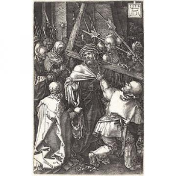 Durer Reproductions: The Engraved Passion: Bearing the Cross - Fine Art Prints