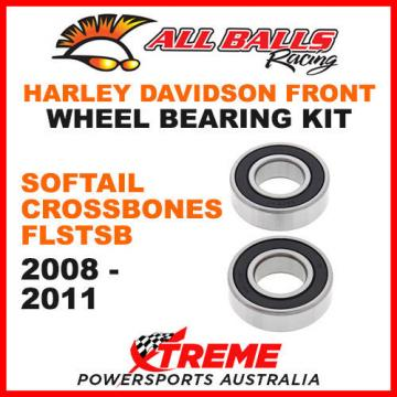 25-1571   HD Softail Cross Bones FLSTSB 2008-2011 Front Wheel Bearing Kit