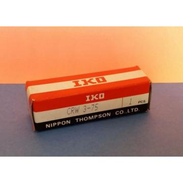 NEW   IKO CRW3-75 CROSSED ROLLER WAY NIPPON THOMPSON