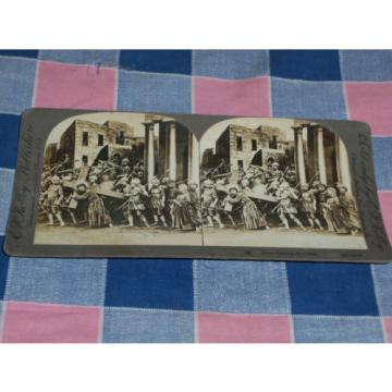 Kelley   Stereoview Jesus Bearing the Cross