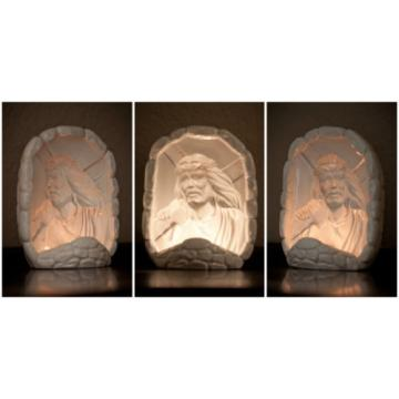 Jesus   Bearing Cross Hologram Ceramic Nightlight-jesuswatchesoveryou.com