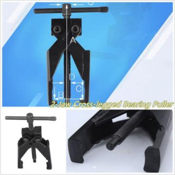 Portable   Black Metal Autos 2 Jaws Cross-Legged Gear Bearing Puller Extractor Kit