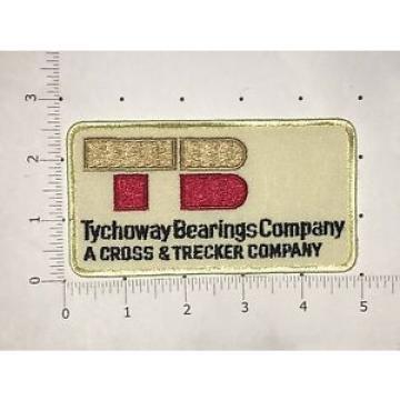 Tychoway Bearings Company Patch - A Cross & Trecker Company