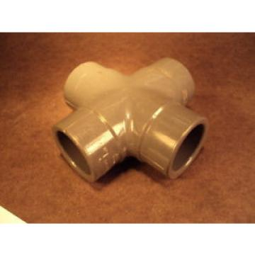 "Cross   (3/4"" S x 3/4""S  /4"" S x 3/4"" S),  PVC1 Sch 80, Slip connector"